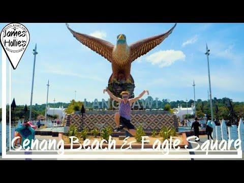 LANGKAWI CENANG BEACH & EAGLE SQUARE - Traveling from Langkawi to Penang
