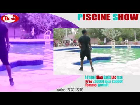 Piscine 100% Show le 24 décembre à l'hotel Niwa Oasis animé par Sidy diop