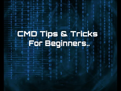 CMD Tips and Tricks For Beginners