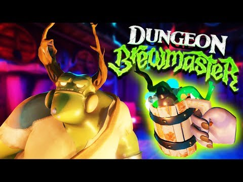 Virtual Reality Potion Shop! - Dungeon Brewmaster Gameplay - VR HTC Vive Pro