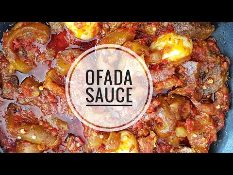 How to make Ofada Sauce/ Stew| NIGERIAN FOOD
