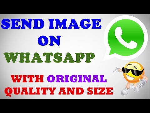 How to Send Whatsapp image without Lose Quality and Size