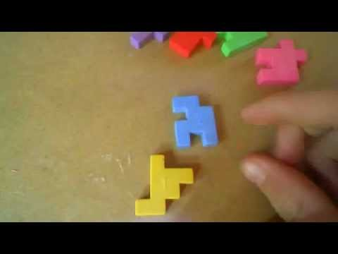 How to solve the eraser cube puzzle