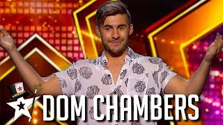 Magician Dom Chambers WOWS Simon Cowell With Beer! | Got Talent Global