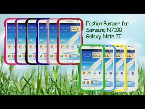 Fashion Bumper for Samsung N7100 Galaxy Note II