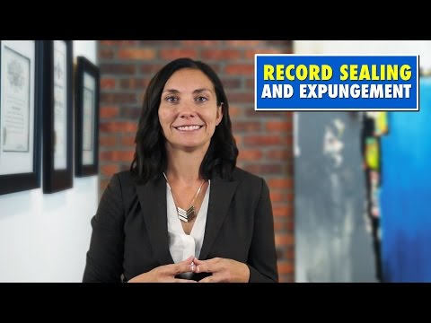 How to Seal or Expunge Your Florida Criminal Record
