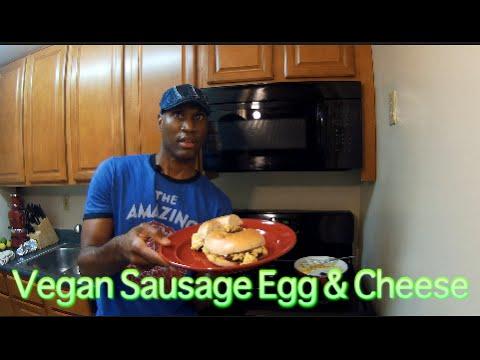 Vegan Sausage Egg & Cheese Bagel