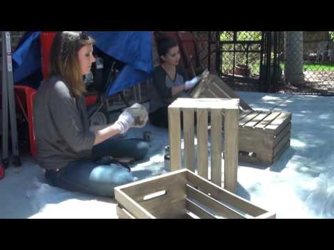 FIX THIS: Wine Crate Coffee Table