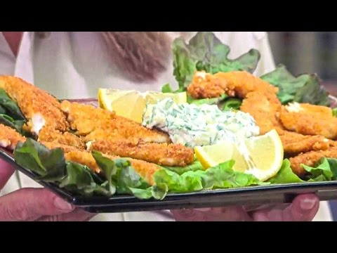 How to Cook Fried Fish Crappies in Corn Flake Batter