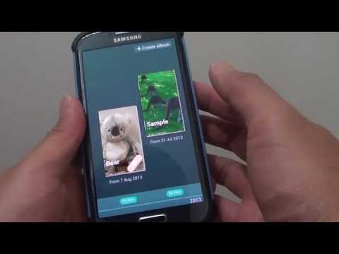 Samsung Galaxy S4: How to Delete Photo or Album in Story Albums