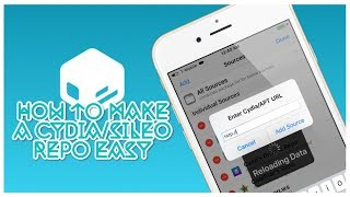 How To Make A Cydia/Sileo Repo Easy iOS 12 And Below 2018