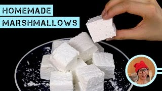 Homemade Marshmallows (No Corn Syrup, No Thermometer!)