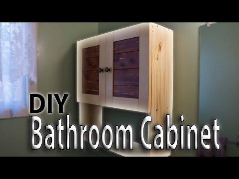 Building a Bathroom Wall Cabinet