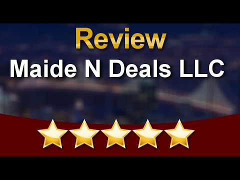 Maide N Deals LLC Katy Excellent Five Star Review by Sarah W