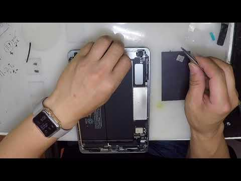 iPad mini 2 Charging port Repair & Replacement (How to remove safe! Touch screen and LCD)
