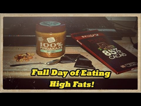 Full Day of Eating - High fats! KETO Diet example