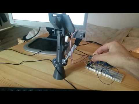 Raspberry Pi Rocket Engine Gimbal