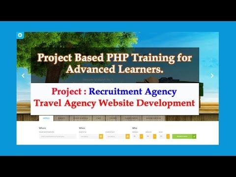 Training on Recruitment Agency (Travel Agency Website Development)