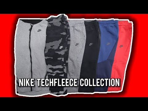 My Entire Nike Tech Fleece Collection! | Joggers, Hoodies, etc | Best On YouTube???