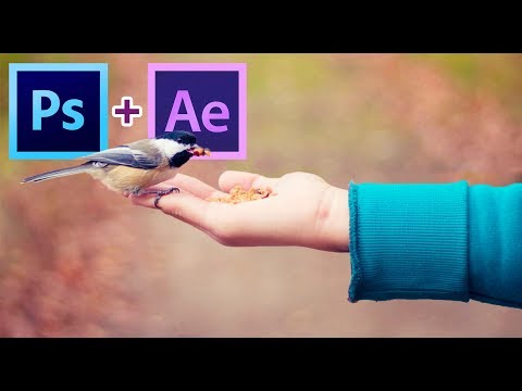 Create Parallax Effect in After Effects & Photoshop - Tutorial: Fast Method - (No Plugin)