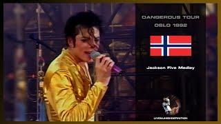 Michael Jackson - Jackson Five Medley - Live Oslo 1992 - Hd