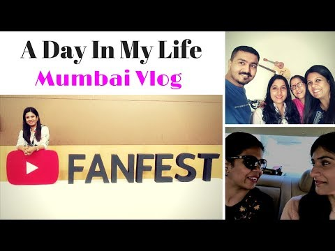 1st Vlog | A Day in My Life | Mumbai Visit | YouTube Creators Camp
