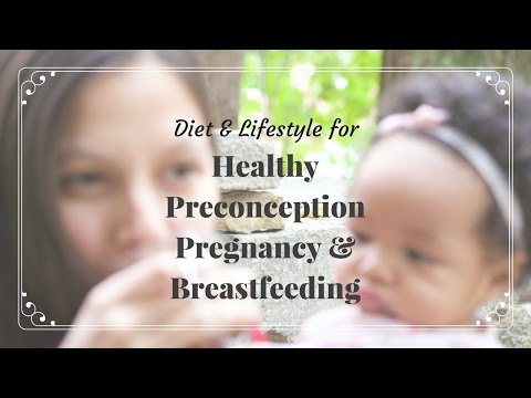 Diet & Lifestyle for Healthy Preconception, Pregnancy & Breastfeeding