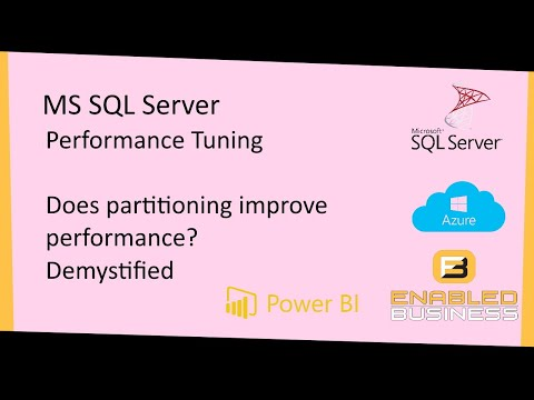 Does partitioning Improve performance ? Explained