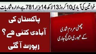 Population of Pakistan   Census Report 2017