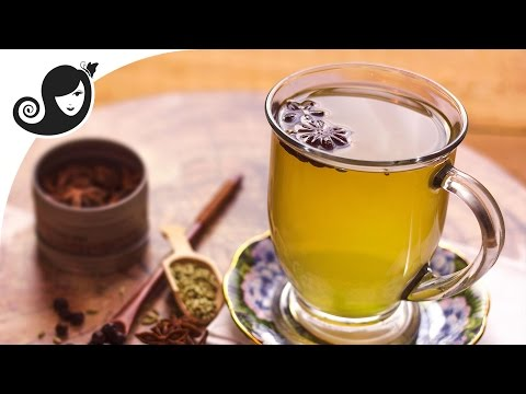 Home Remedy for Bloating, Gas, Menstrual Cramps Relief | Juniper Berry, Star Anise & Fennel Tea