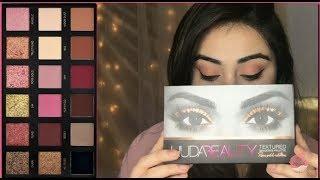 Soft Sunset Eyes using the Huda Beauty Eyeshadow Palette - Rose Gold Edition! 😍