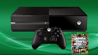 xbox one unboxing/GTA V