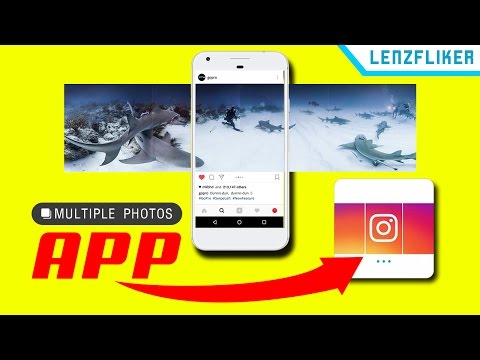 How To Crop 360 Panoramas for Instagram's Multiple Photos Mode From Your Phone