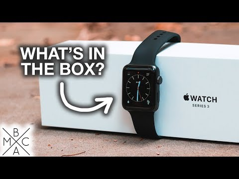 Apple Watch Series 3 UNBOXING & QUICK SET UP/COMPARISON! ⌚️
