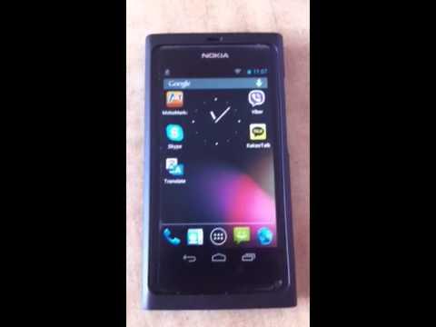 Nokia n9 dual boot android jellybean