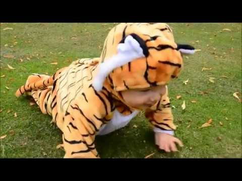 Travis Designs Baby Tiger Childrens Costume