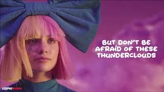 LSD - Thunderclouds (Lyrics Video) ft. Sia, Diplo, Labrinth