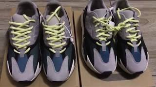 a3f7f3e94f88 Real VS Fake Adidas Yeezy 700 Wave Runner Comparison Review