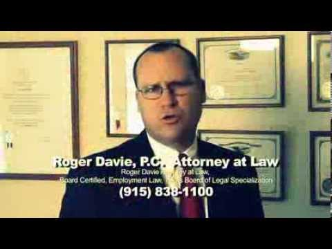 Roger Davie - El Paso Wrongful Termination and Employment Lawyer