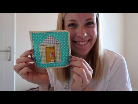 How To Make a Beach Hut Coaster