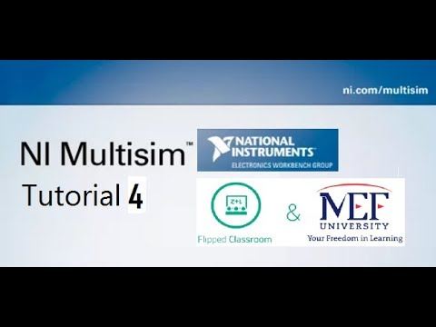 Introduction to Multisim Software IV: Hierarchy & Creating Subcircuits