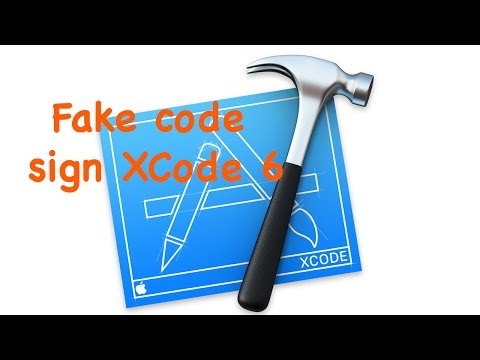 Fake Code Sign Xcode 6: Create Unsigned IPA without Developer Certificate (iOS 8.1)