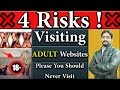 4 Risks ! Visiting Adult Websites Is Bad for Your Privacy And Security | Plz You Should Never Visit