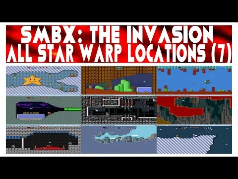 SMBX: The Invasion 2 - All Star Warp Locations (7)