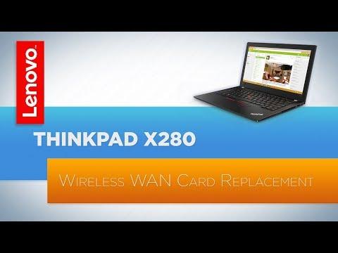 ThinkPad X280 - Wireless WAN Card Replacement