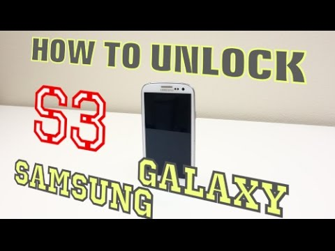 How to Unlock Samsung Galaxy S3 for ALL NETWORKS (AT&T, T-Mobile, Vodafone, Bell, Rogers, ETC)
