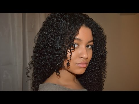 HOW I BLEND MY NATURAL HAIR WITH CURLY WEAVE ⎜Her Given Hair