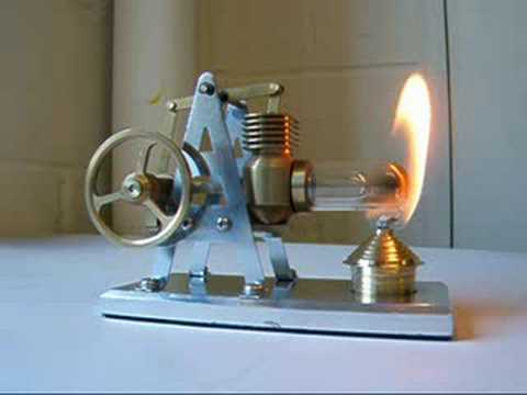 new Stirling hot air engine from Maidstone Engineering