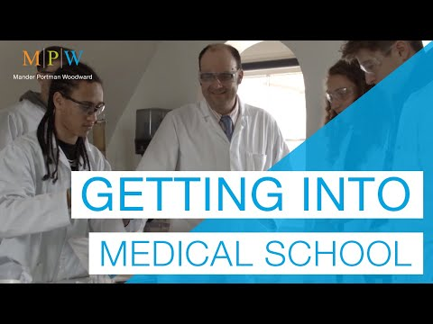 Advice on getting into Medical School