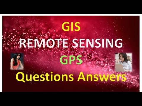 GIS REMOTE SENSING GPS Questions Answers Part 1